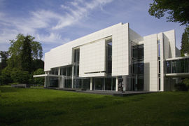 The Museum Frieder Burda is a well-known collector's museum with art of the expressionism.