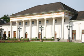 The Kurhaus is the center of Baden-Baden's spa district. It contains the famous Casino.