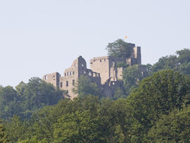 Castle Hohenbaden was the first castle of the magraviate of Baden. Today it is a ruin, that can be visited free of charge.